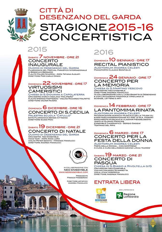 Stagione concertistica 2015_16