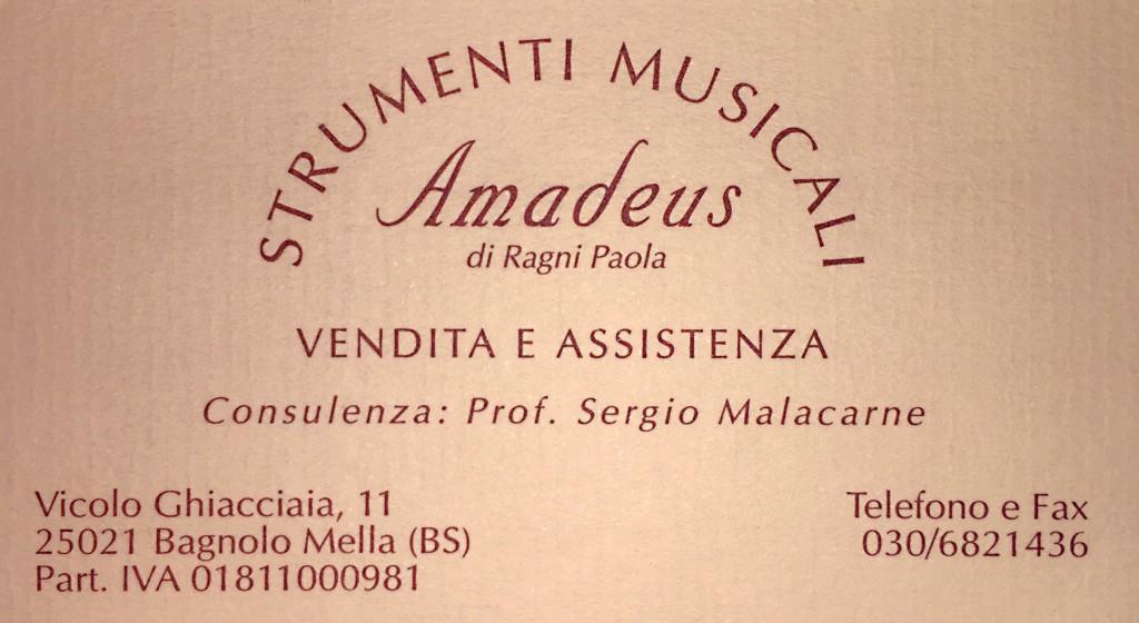 Strumenti Musicali Amadeus